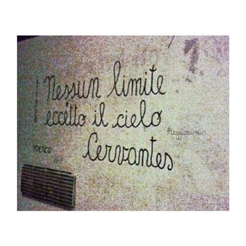 "Diffida dai libri leggilo sui muri ""  #leggilosuimuri #diffidadailibri #scritte #arte #citazioni #scrittesuimuri #scrivilosuimuri #frasi #frase #citazioni #citazione #streetart #muri #italia ✒️✏️"
