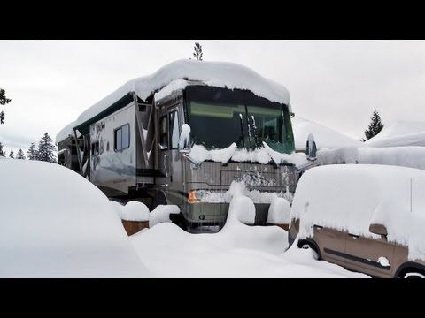 Youtube video from RVgeeks: winterize your systems for cold weather living