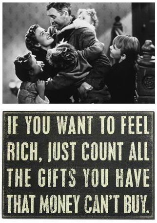 If you want to feel rich...