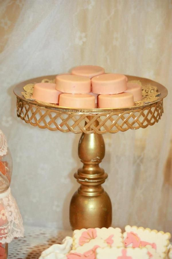 vintage peach gold baby shower planning ideas decorations