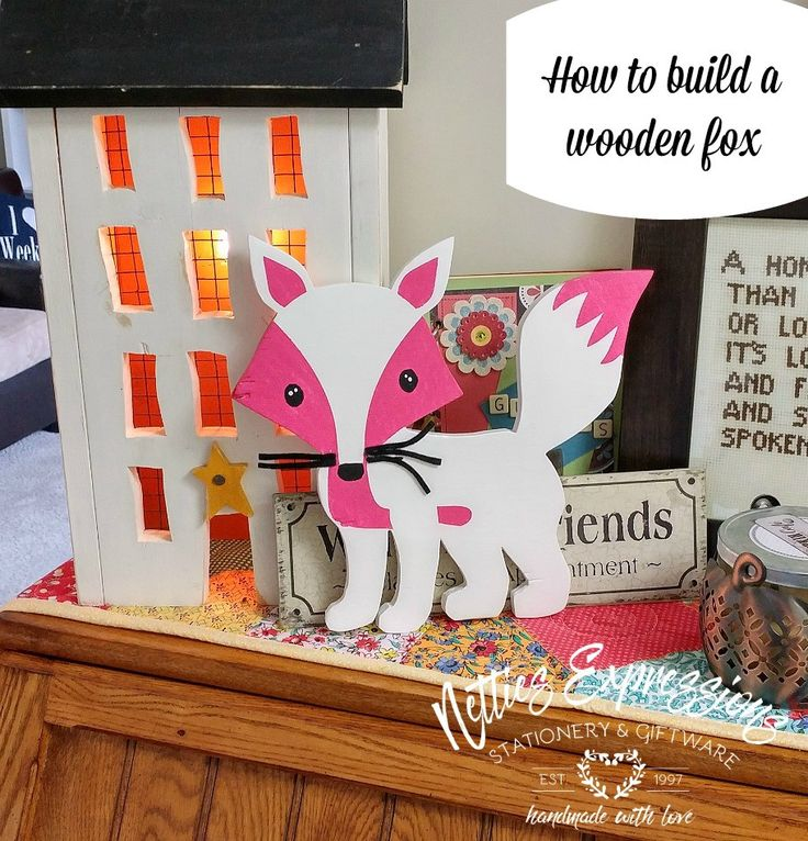 How to make a wooden fox