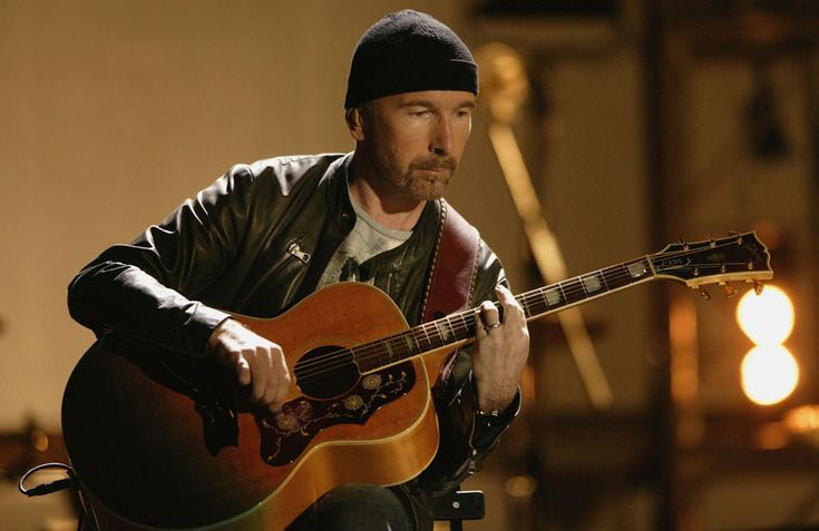 """April 30, 2016: VATICAN CITY: The Edge, lead guitarist with the Irish band U2, became the first rock star to play in the Sistine Chapel, a venue he described as """"the most beautiful parish hall in the world"""". The Edge, real name David Evans, sang four songs for about 200 doctors, researchers and philanthropists who attended a conference at the Vatican on regenerative medicine called Cellular Horizons."""