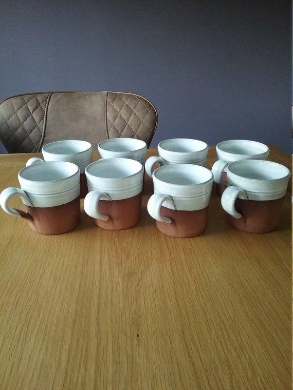 Vintage Stephen Pearse Pottery Stoneware Mugs Irish Studio Pottery Ireland C Irish Pottery Pottery Stoneware Mugs