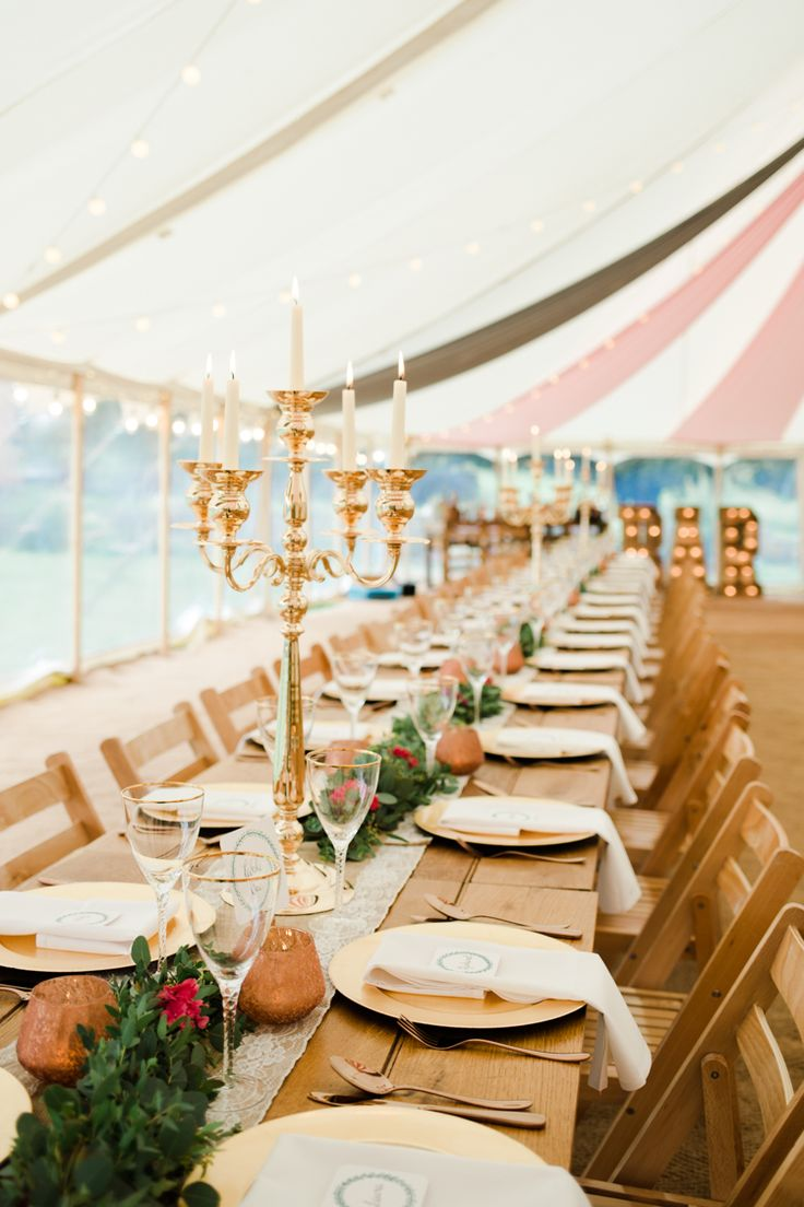 Outdoorsy Late Summer Marquee Wedding Ideas 352