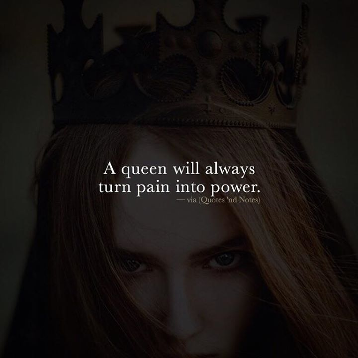 A queen will always turn pain into power. via (http://ift.tt/2fZffql)