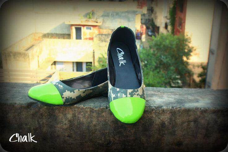 Urban Jungle Camo Ballet Flats