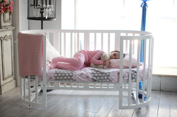 Sixth transformation bed convertible, sofa. Its length is 165 cm, baby can sleep on it for up to 8 years. This is a very cosy and comfortable sleeping place. http://ellipsefurniture.ru/