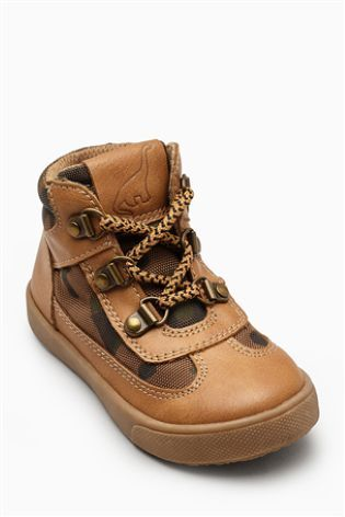 Светло-коричневый Походные ботинки чукка (Мальчики)