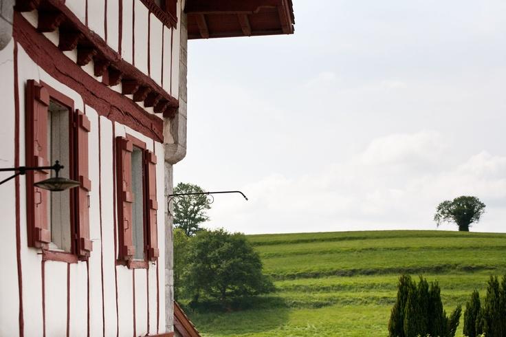 Ainhoa au Pays basque