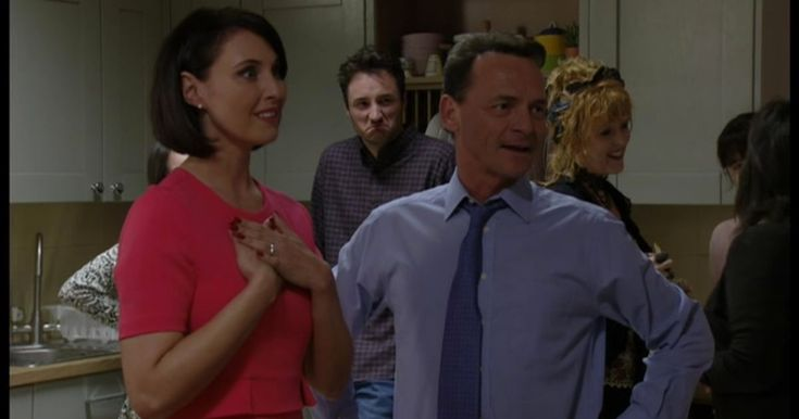 Honey and Billy Mitchell got a big surprise at their housewarming party