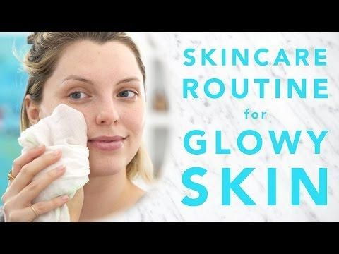 SKINCARE ROUTINE FOR GLOWING SKIN | AD | Estée Lalonde