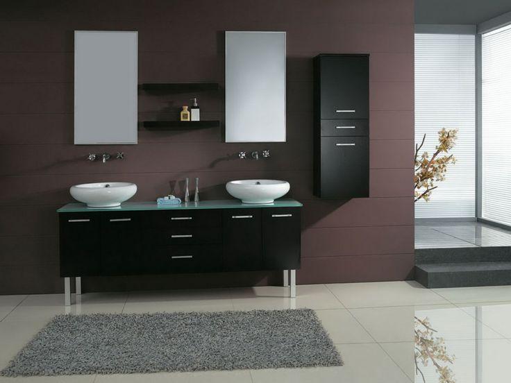 mueble bajo lavabo black cabinets bathroom
