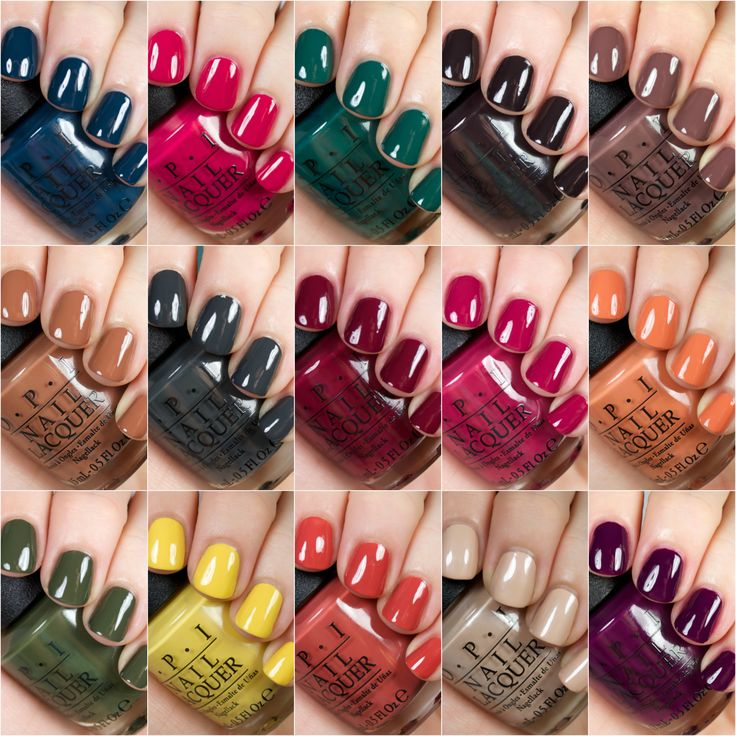 OPI Square Collage