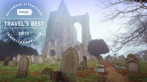 Get spooked! Check out our new #TravelsBest list: Best Halloween Attractions 2013: Attraction 2013, Halloween Attraction, Freaki Attraction, Travel Resources, Church Hackney Spirit, Tops Spooky, Church Hackneyspirit, Families Fun, Happy Halloween