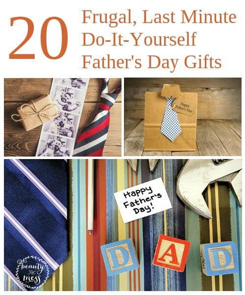 173 best celebrate fathers day images on pinterest parents day 20 frugal last minute do it yourself fathers day gifts solutioingenieria Gallery