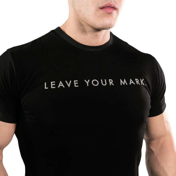 Leave Your Mark Drop Tee - Black