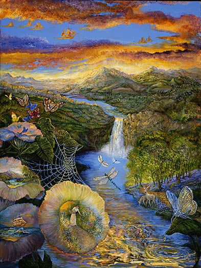 'Echoes of Nature' by Josephine Wall