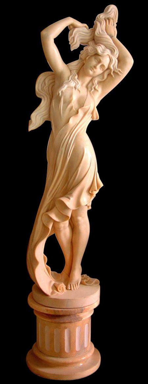 Stone Marble Garden Statues | Pedestal Marble Artisan Kraft  Http://www.artisankraftfireplaces