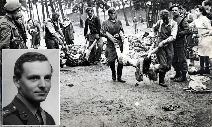 The man who stumbled on HELL: His place in history has never been revealed. But a just published memoir by an SAS officer recounts how he uncovered the horrors of Belsen