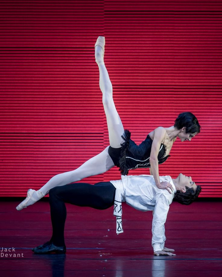 Polina Semionova and Roberto Bolle in Carmen. Photo by Jack Devant