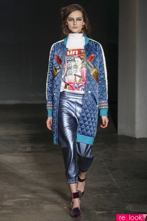 Тренд осенней моды 2014: стеганая ткань