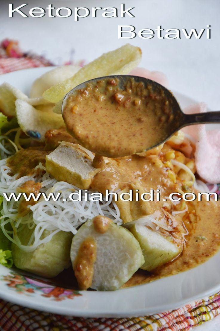 Diah Didi's Kitchen: Ketoprak Betawi