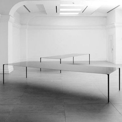 Surface table and chair collection - by Terence Woodgate and John Barnard for Established & Sons
