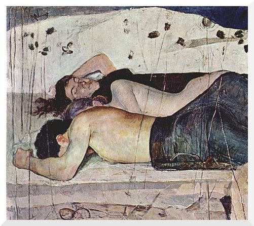 PERSONA E COMUNITA'.: La notte e la paura della Morte, F. Hodler.
