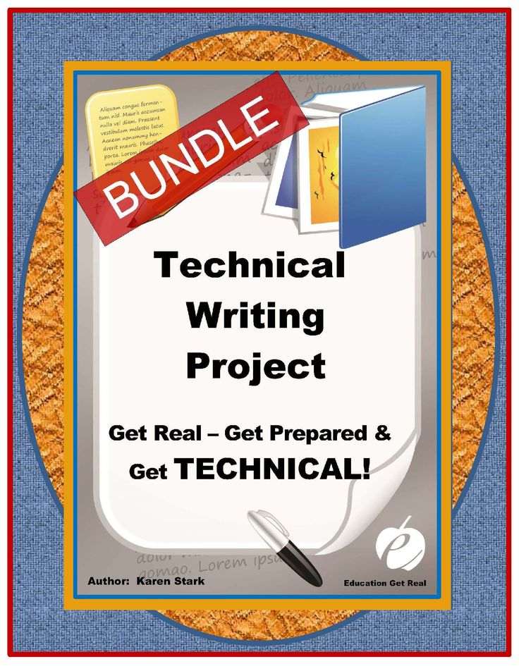 Technical writing service in english class