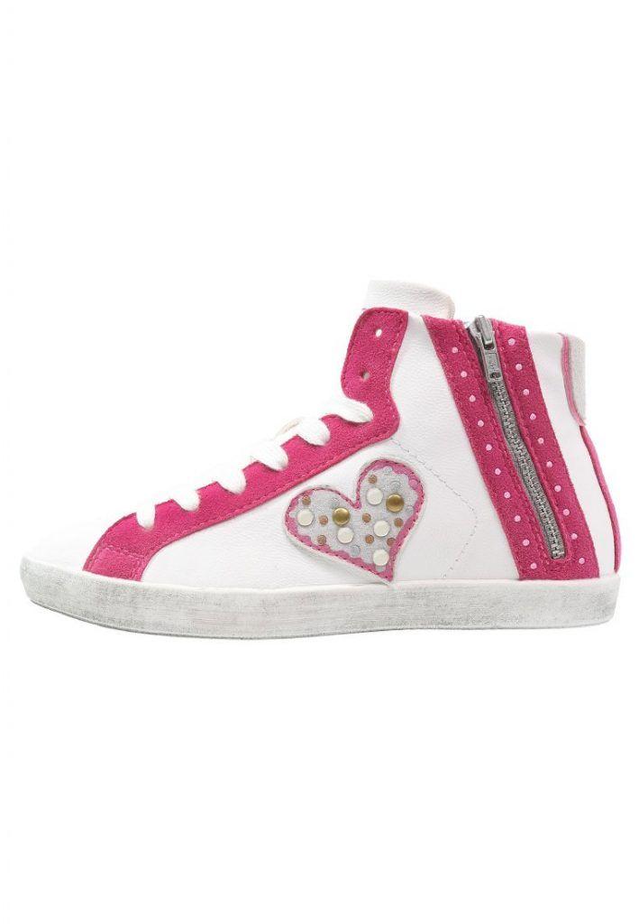 #Friboo #Sneaker #high #white für #Mädchen -