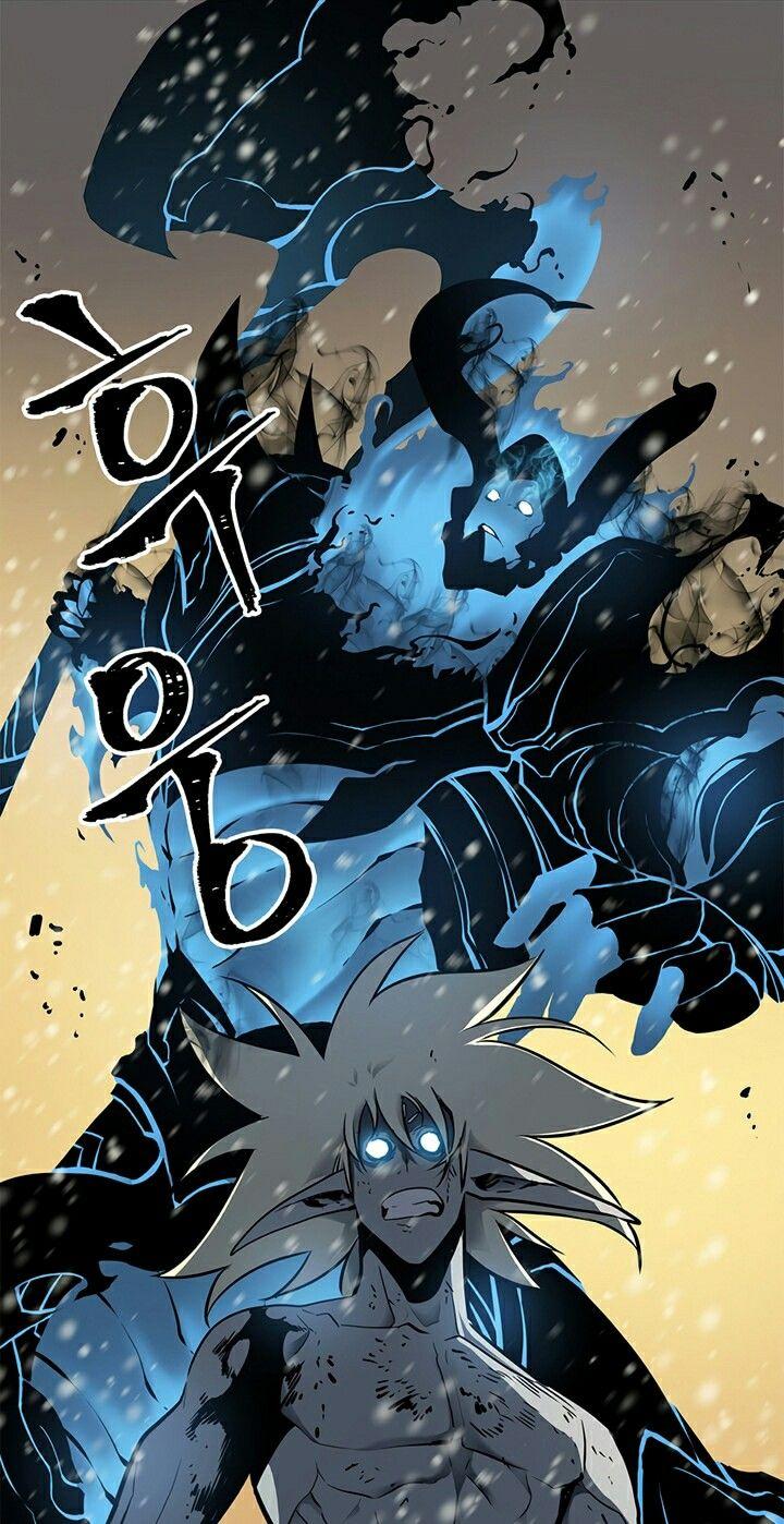 Iron vs Baraka Arte mangá, Monstros lendários, Anime