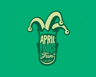 Cool April Fools Logos: Jesters and Clowns | Logo Design Gallery Inspiration | LogoMix