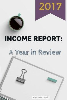 Income report for 2017, where I go over my streams of income online. Find out how I made $1403 without a blog and which websites I used. #erichesclub #blogpost #incomereport #withoutablog