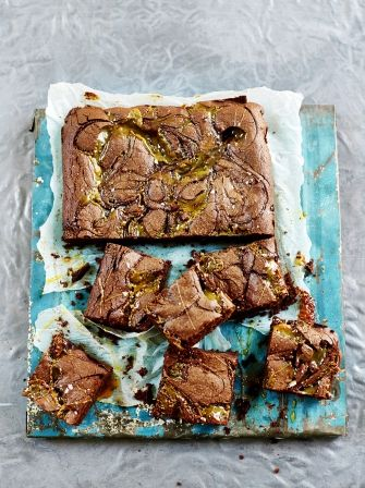 Special treat for mum: Salted caramel brownies | Jamie Oliver
