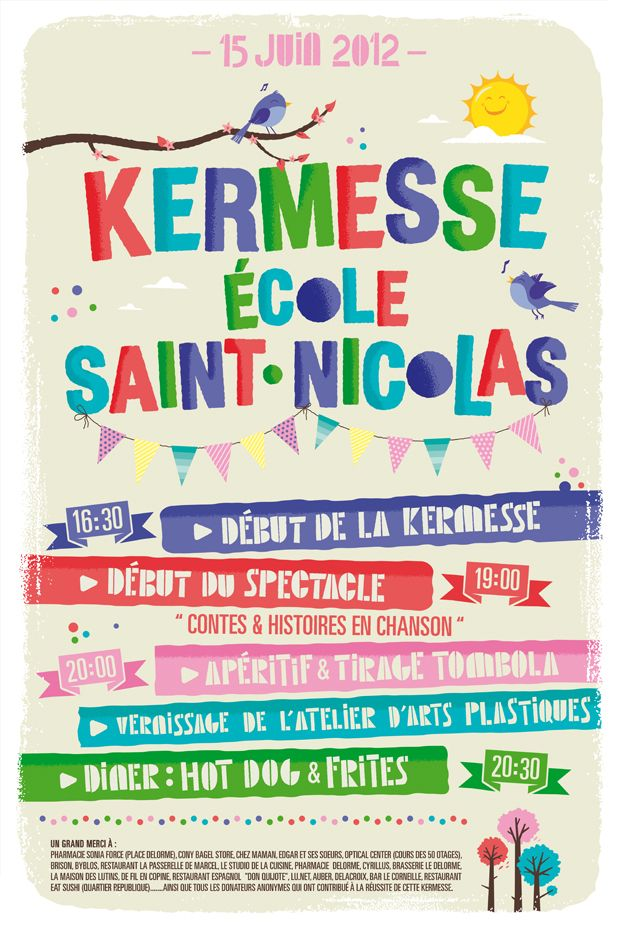 Connu 125 best Kermesse images on Pinterest | Carnivals, Music and Brain  BH93