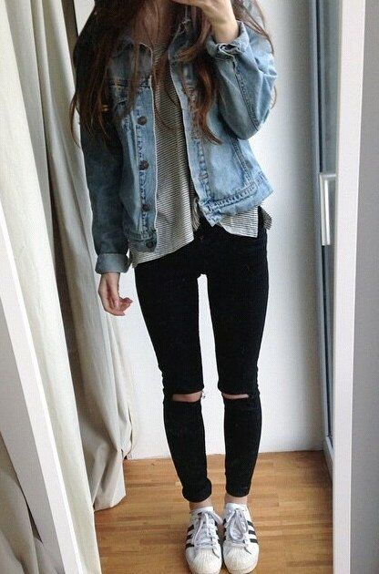 1000  ideas about Black Jeans Outfit on Pinterest | Black jeans
