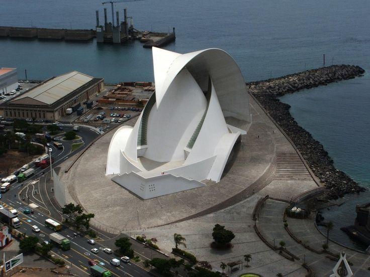 Kết quả hình ảnh cho Auditorio de Tenerife