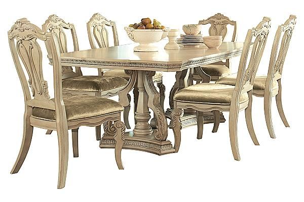 The ortanique dining table from ashley furniture homestore for Ortanique furniture