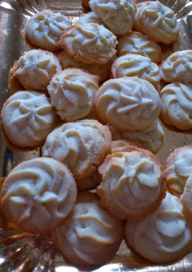 ricetta: Biscotti di frolla montata di Leonardo di Carlo