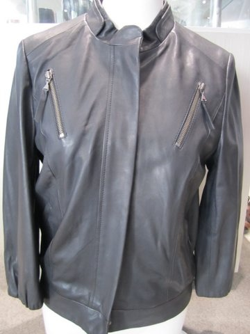 Luisa Cerano Leather Jacket