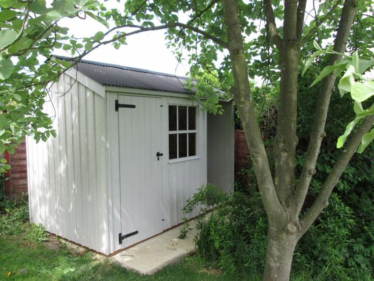 National Trust Blickling Garden Shed  This National Trust Blickling Garden Shed has recently been installed in our customer's garden in Bungay, Norfolk.   This Blickling has slotted very nicely into the back corner of the customer's garden to be used for both garden storage and as a log store.  Full details :- https://www.cranegardenbuildings.co.uk/installed-buildings-norfolk/sheds-in-bungay-