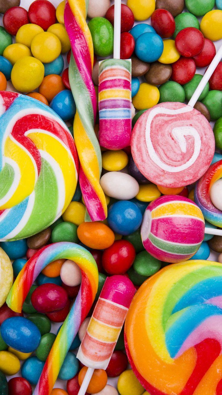 No hay nada más alegre para una fiesta que un surtido de caramelos y chuches!!