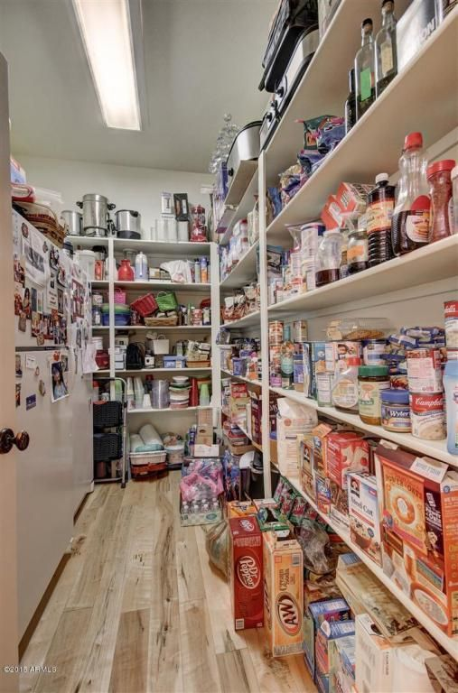 Large Walk In Pantry With Room Enough For An Extra Freezer