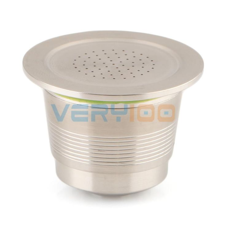 NEW Stainless Steel Compatible For Nespresso Machine Refillable Reusable Capsule Free Shipping! #>=#>=#>=#>=#> Click on the pin to check out discount price, color, size, shipping, etc. Save and like it!