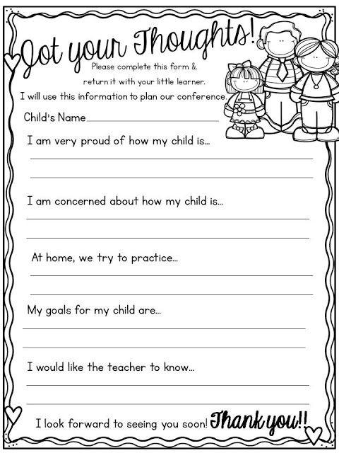 The  Best Parent Teacher Interviews Ideas On   Parent