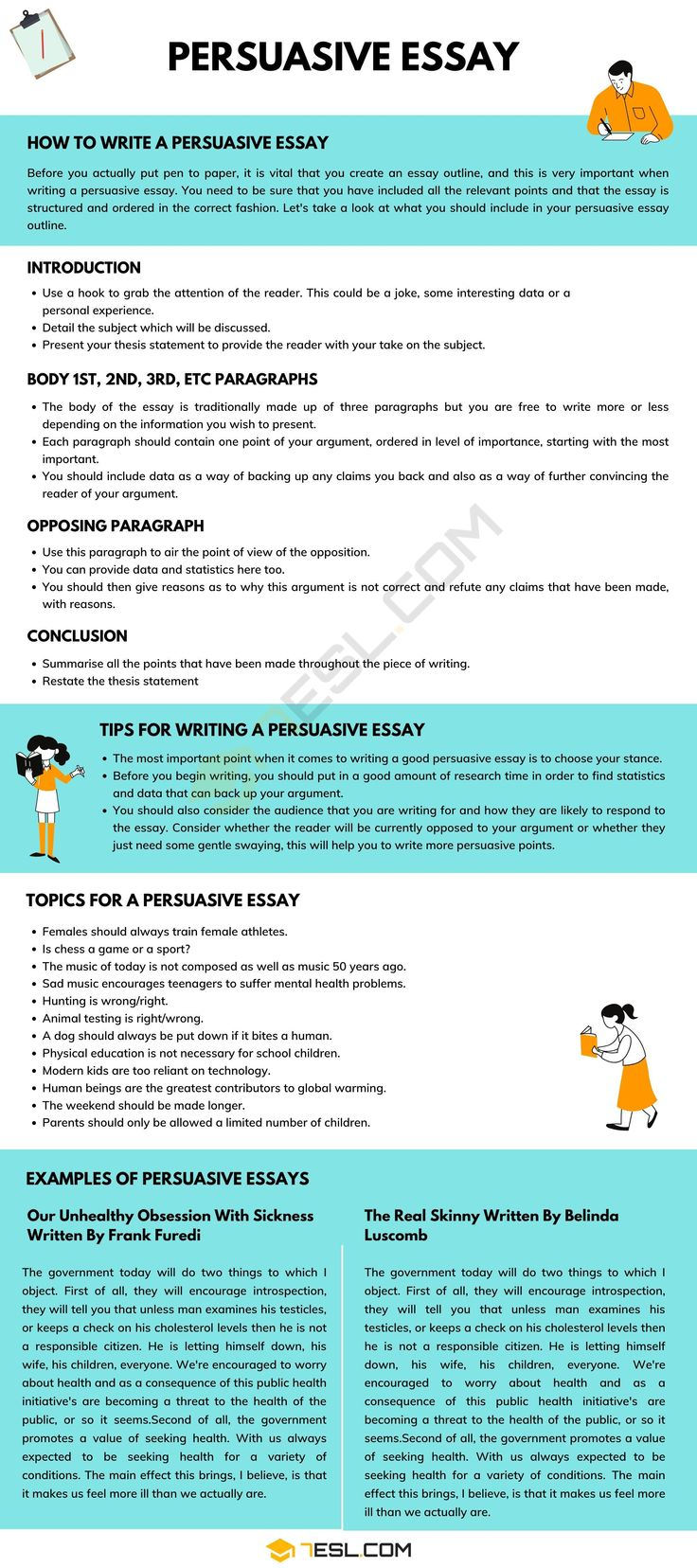 Persuasive Essay Definition Example Topic Tip For Writing A 7 In 2021 Outline Essays How To Separate Paragraph Mla Format