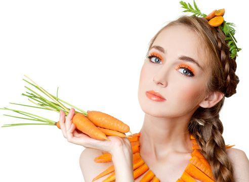 Домашняя косметика из моркови