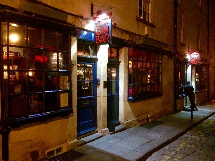 The Canary Gin Bar, Bath