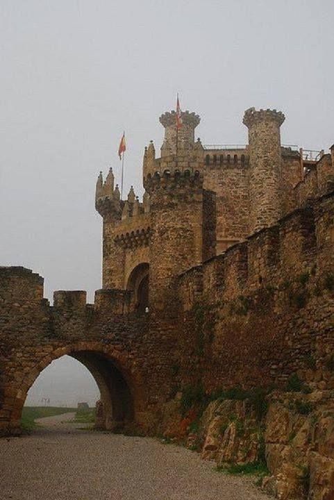 Templar Castle of Ponferrada - Spain