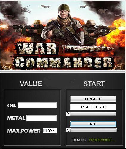 Download War Commander Hack Tool Cheats Engine No Survey